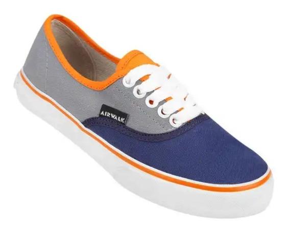 Zapatillas Airwalk (gris/azul)