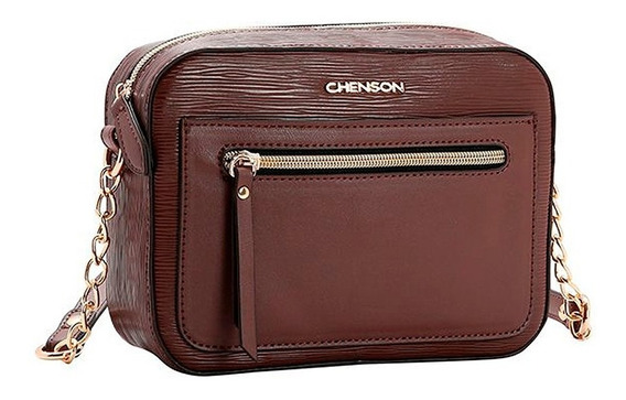 Bolsa Feminina Chenson Pequena Couro Sintético Tiracolo 3482118