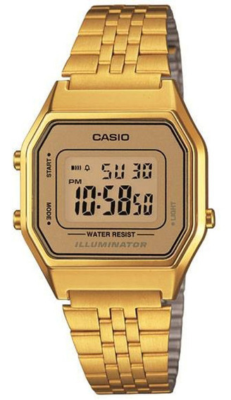 Relógio Casio Feminino Vintage La680wga-9df. Original E Nota