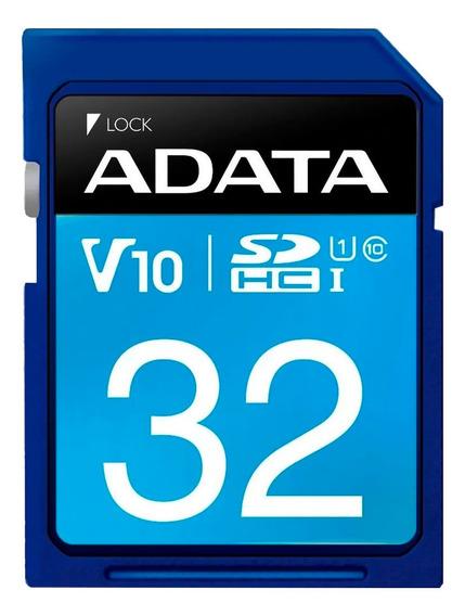 Adata Memoria Sd 32gb Uhs-i Clase 10 Celulares 50mb/s