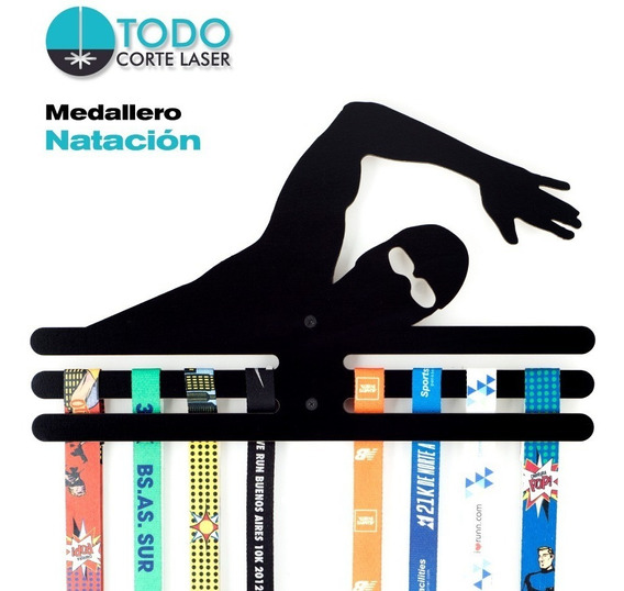 Medallero Natación-swimming-deportivo
