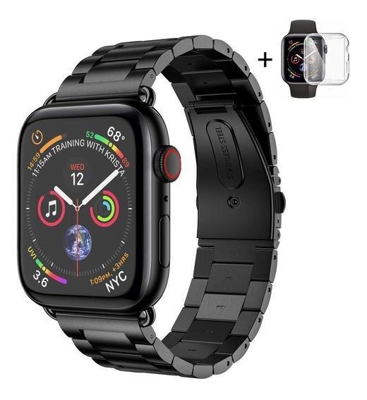 Pulseira Apple Watch Metal Aço Elos Links 40mm 44mm Series 4
