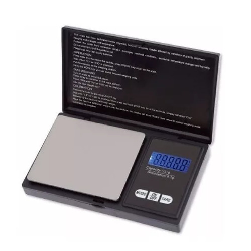 Balanza Digital Precision 500 G Division 0.1g