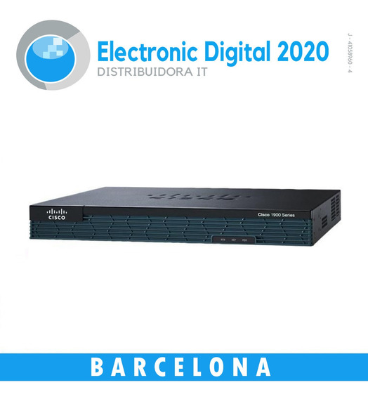Router Cisco 1900 Series (cisco 1905) Usado