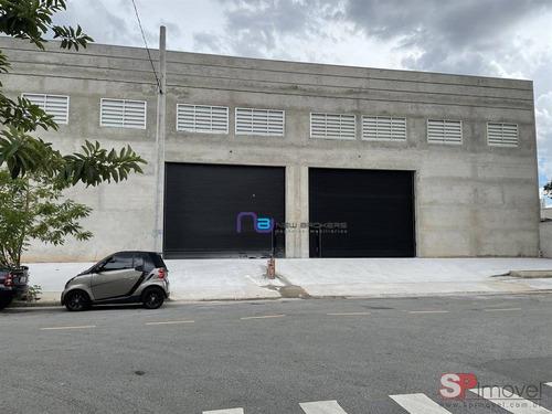 Imagem 1 de 2 de Aluga Galpão, 1000 M² Por R$ 22.000/mês - Utinga - Santo André/sp - Ga0898