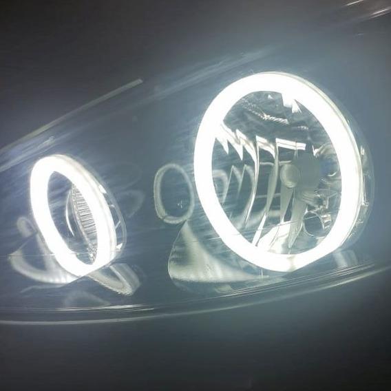 Kit Angel Eyes Peugeot 206 307 208 Ilumina De Dia No Sol Drl