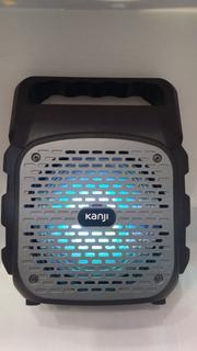 Parlante Portátil Bluetooth Sd/usb Inalámbrico Kanji Pacha