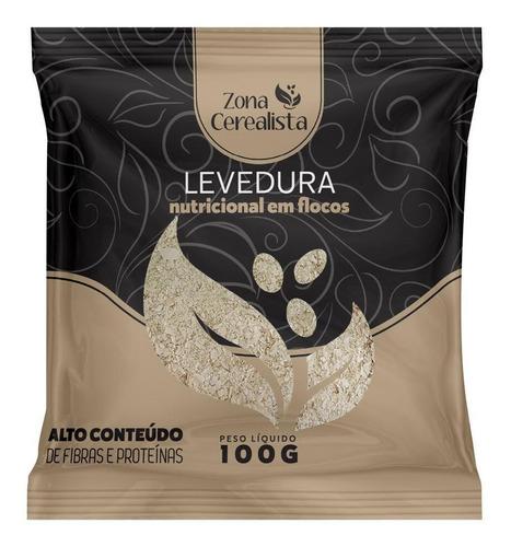 Levedura Nutricional Em Flocos Zona Cerealista 100g