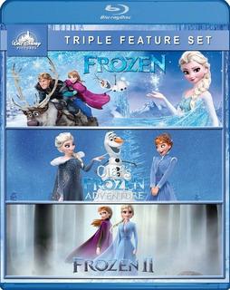 Frozen Bluray Coleccion Latino