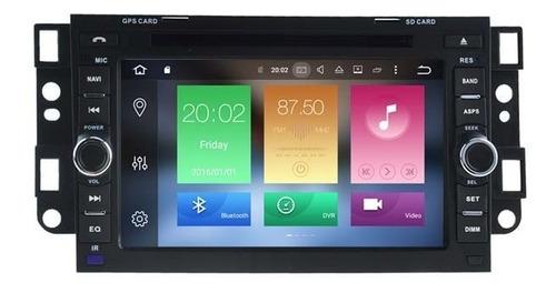 Radio Gps Bluetooth Chevrolet Captiva Android 9.0 64gb 4gb