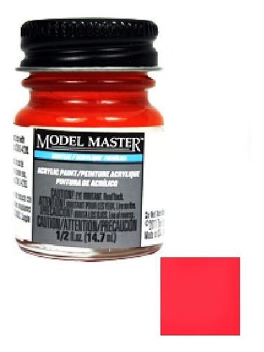Imagem 1 de 1 de Tinta Acrílica Italian Red Itali [g] Model Master 4631