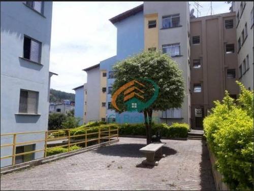Apartamento Com 2 Dormitórios À Venda, 50 M² Por R$ 215.000,00 - Jardim Valéria - Guarulhos/sp - Ap3959