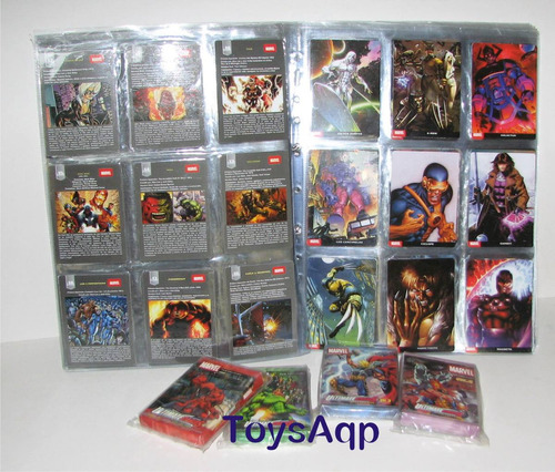 Ultimate Cards De Marvel.