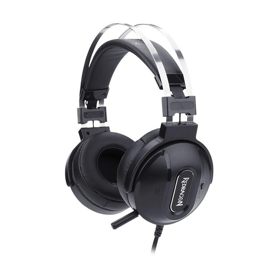 Headset Gamer Redragon Ladon 7.1 Com Fio Pc Pronta Entrega
