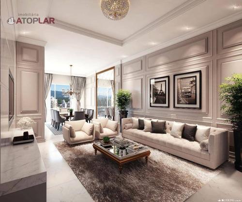 Apartamento À Venda, 112 M² Por R$ 812.000,00 - Meia Praia - Itapema/sc - Ap2114