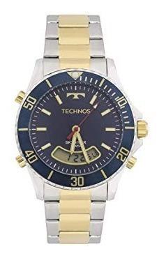 Relógio Technos Skydiver Anadigi T205jc/5a Misto