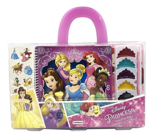 Imagen 1 de 5 de Princesa Valija Disney Para Crear Y Pintar Con Acuarelas
