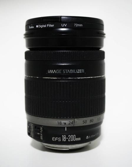 Lente Efs 18-200 Para Canon