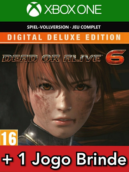 Dead Or Alive 6 Deluxe Edition Xbox One Mídia Digital