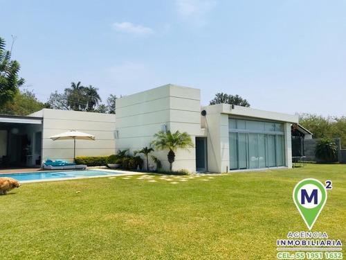 Casa En Fraccionamiento En Club De Golf Santa Fe / Xochitepec - M2ai-271-fr