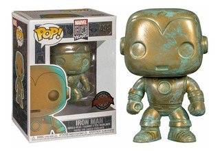 Funko Pop Marvel 80th - Iron Man Patina #498