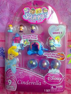 Princesa Cenicienta Squinkies Figuras Miniatura Serie 5