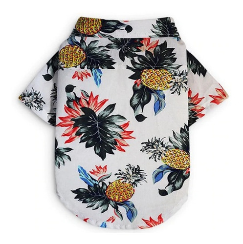 Blanco Piñas Mascota Ropa Camisa - Unidad a $21900