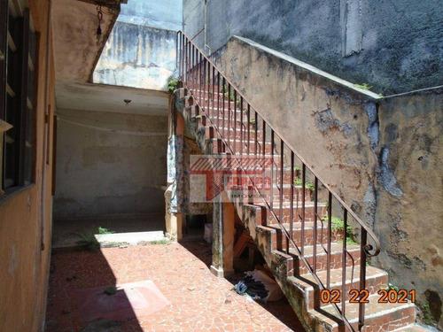 Imagem 1 de 24 de Terreno À Venda, 140 M² Por R$ 320.000,00 - Vila Linda - Santo André/sp - Te0107