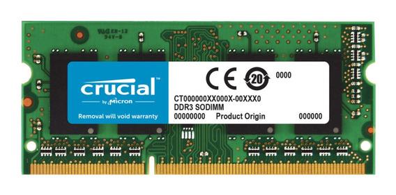 Memoria RAM 16GB 2x8GB Crucial CT2K8G3S160BM