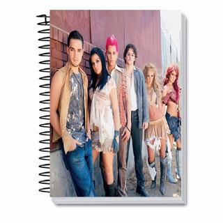 Kit Rbd Caderno 1 M + Caneca + 20 Dvds 44221