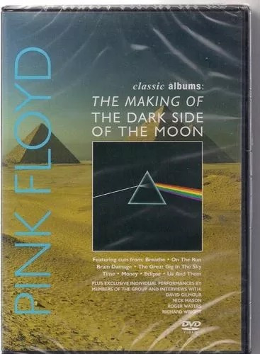 Dvd Pink Floyd Making Of Dark Side Of The Moon Álbum De 1973
