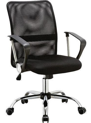 Cadeira Diretor Pelegrin Pel-501 Em Tela Mesh Preta