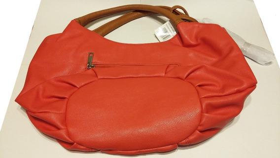 Cartera Bolso Rojo De Mujer - Nuevo!!
