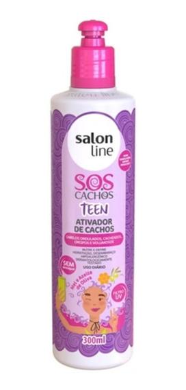 Salon Line Sos Ativador De Cachos Teens 300ml