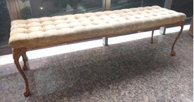 Antiga Chaise / Recamier, Pátina Ouro, Veludo
