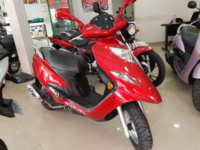 Suzuki Burgman 125i 2012 Vermelha 20000 Km