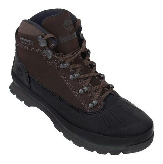 Bota Timberland Euro Urban Hiker Toe Dark Brown Nova