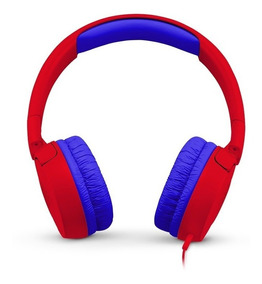 Fone De Ouvido Jbl Jr300 Infantil Kids Vermelho Headphone