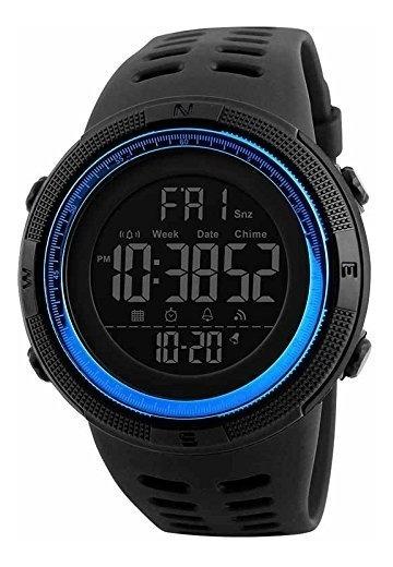 Skmei Reloj Para Hombre, Digital, Deportivo, Retroiluminaci