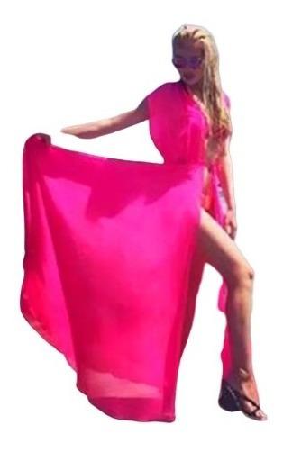 Vestido De Playa Varios Colores Envio Gratis