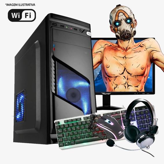 Pc Gamer I7 4ª, 16gb Ram, Hd 500gb, Gtx 1060 3gb Completo