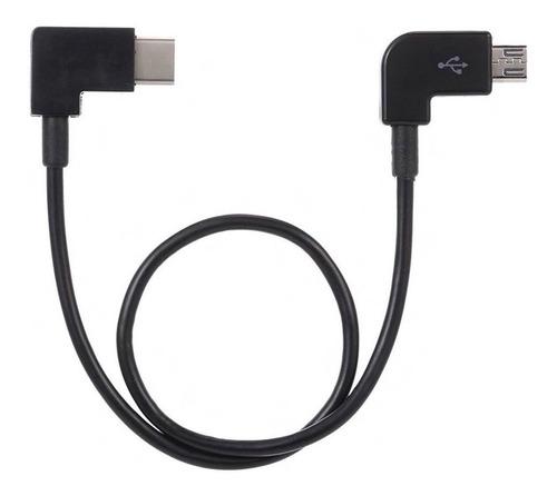 Imagen 1 de 4 de Cable Micro Usb A Type-c Para Rc Dji Mavic Mini Mavic 2
