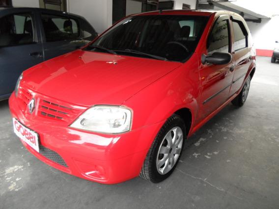 Renault / Logan Expression 1.6 8v 2009 Vermelho