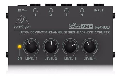 Amplificador Auriculares Behringer Microamp Ha400 - Cuotas