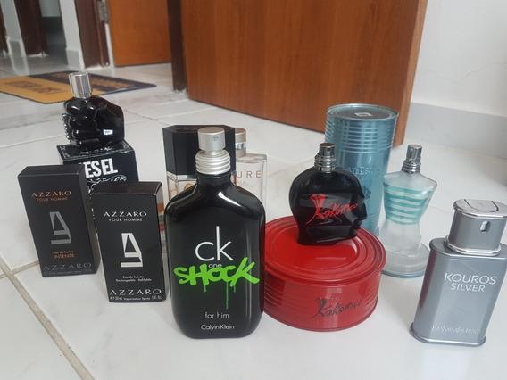 Vidros Vazios De Perfumes Importados Variados