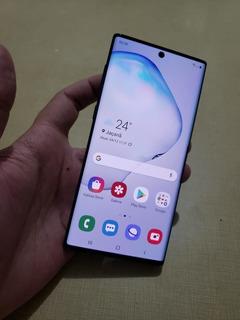 Samsung Galaxy Note 10 N970f 256gb Original Detalhe Leia
