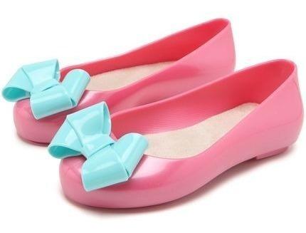 Sapatilha Infantil Rosa E Azul Tam 28 A 33 40001c Pimpolho