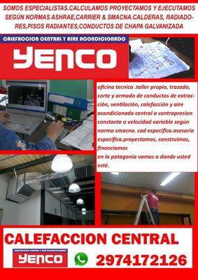 Calefaccion Central Cad Proyecto Santa Cruz Zingueria Propia