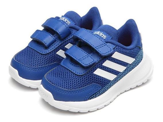 Tênis Infantil adidas Tensaur Run Velcro Azul Orginal C/nota