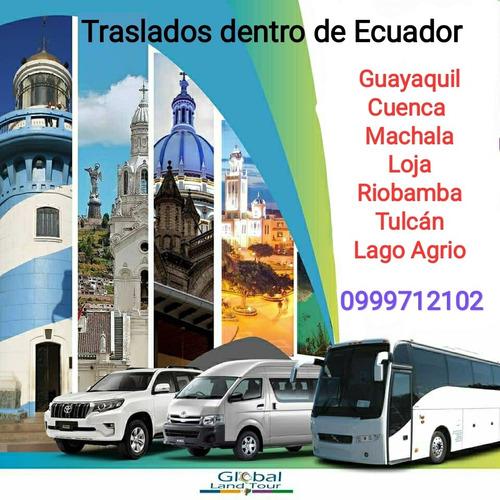 Imagen 1 de 7 de Transporte Turístico Ecuador Alquiler Buses Furgonetas Autos